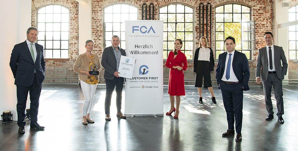 "FCA: Handelspartner erhalten ""Customer First Award for Excellence"""