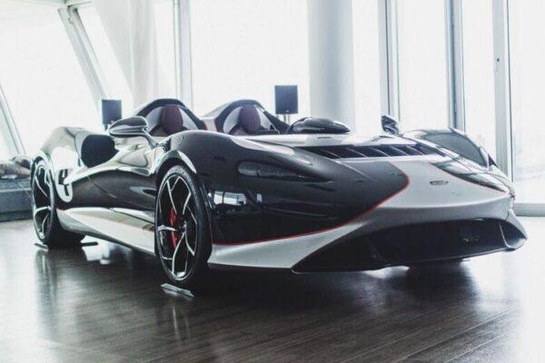 Der McLaren Elva zeigte sich in Hamburg