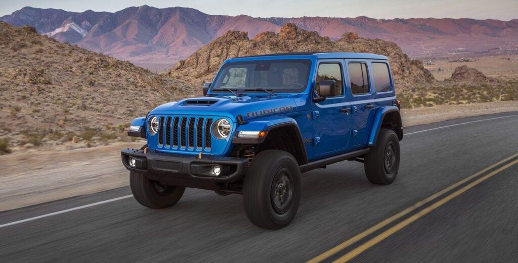 V8-Jeep für die USA: Wrangler Rubicon 392