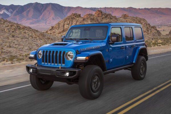 V8 Jeep für die USA: Wrangler Rubicon 392