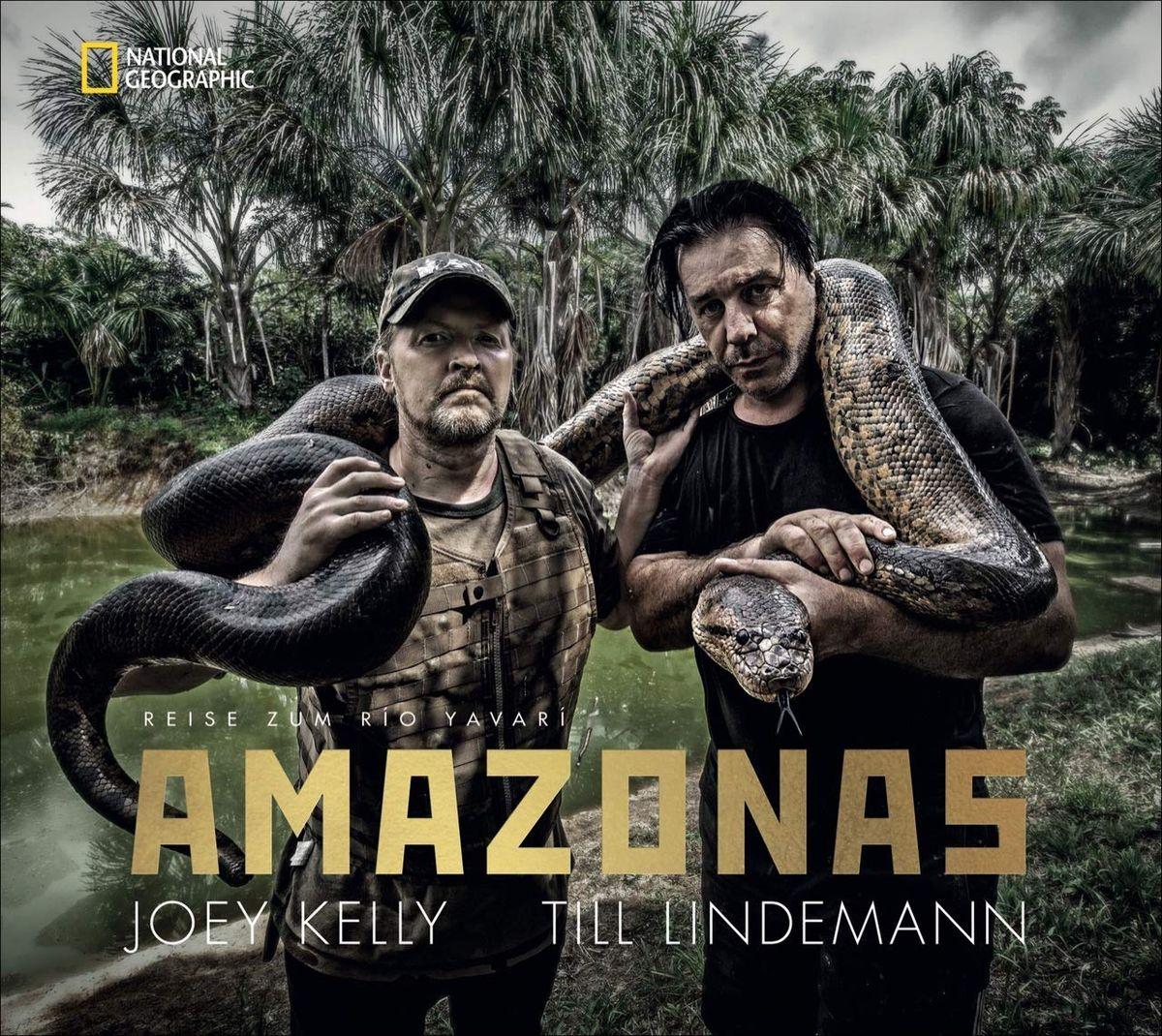 Joey Kelly | Till Lindemann Amazonas Fotos: Thomas Stachelhaus | Matthias Matthies 240 Seiten | 79,- Euro ISBN 978-3-86690-705-8
