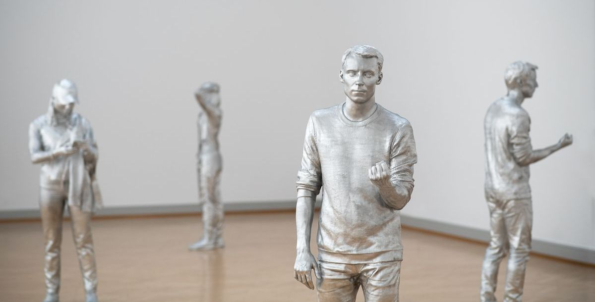 """Die Ausstellung """"Città Irreale"""" in St. Gallen"""