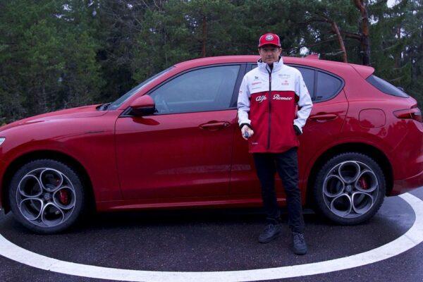 Räikkönen cruist im Stelvio durch Finnland