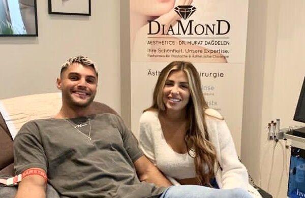 Influencer-Paar bekommt Vitamininfusion