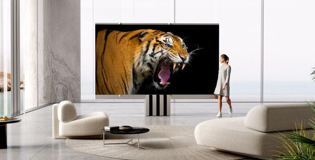 C Seed M1: Der faltbare Oversize-Luxusfernseher