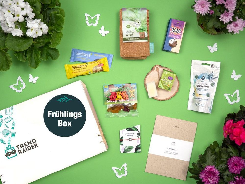 TrendRaider Frühlingsbox