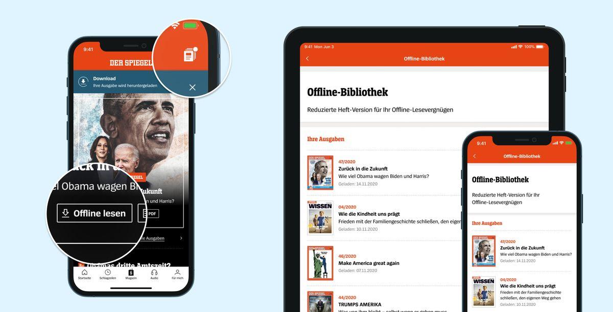 Spiegel-Gruppe: Eine Marke - eine App