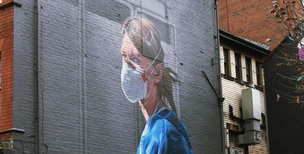 Gelesen: Street Art in Zeiten von Corona