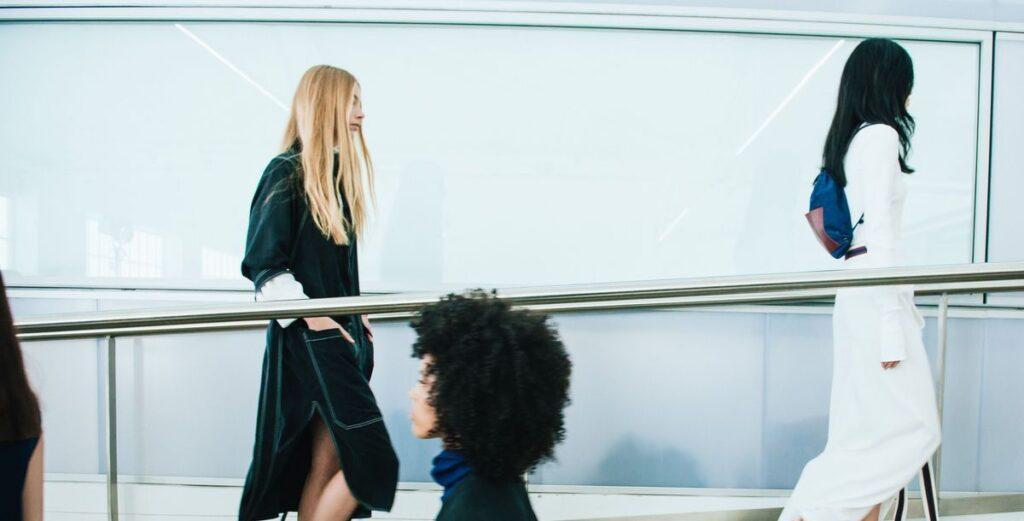Die Fashion-Kollektion der Studierenden