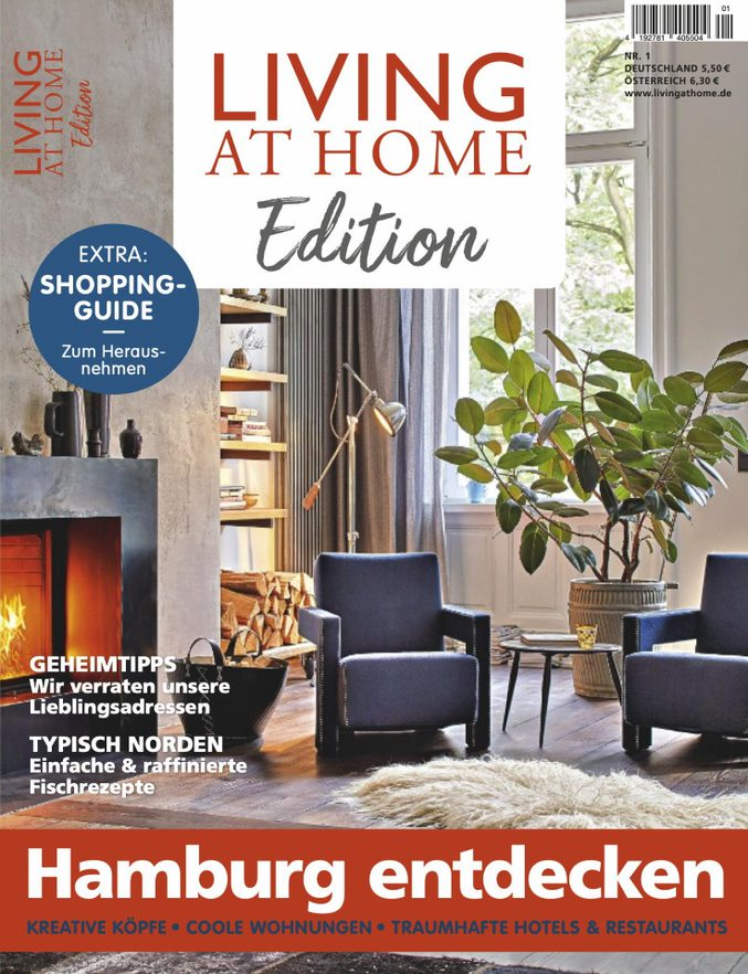 """Living At Home"" Edition""Hamburg entdecken"""